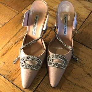 Manolo Blahnik vintage dress shoes